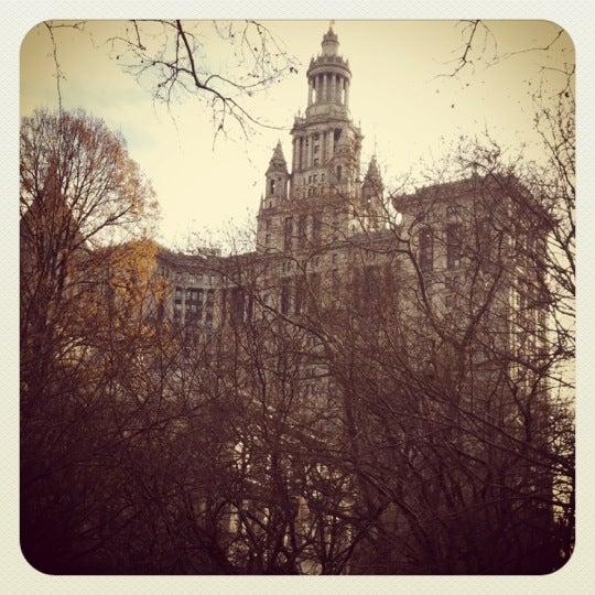 Photo taken at NYC Municipal Building by NYRick on 1/13/2012