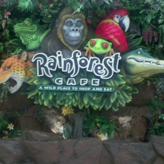 Rainforest Cafe Now Closed East Bloomington 62 Tips