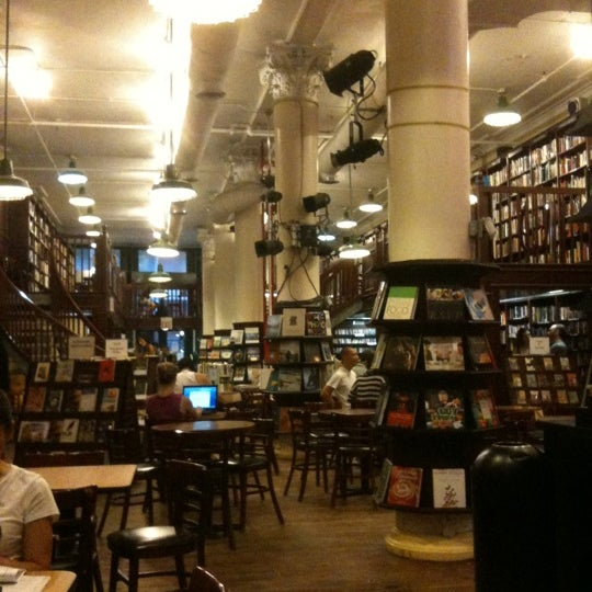 Photo taken at Housing Works Bookstore Cafe by Michael H. on 8/1/2011