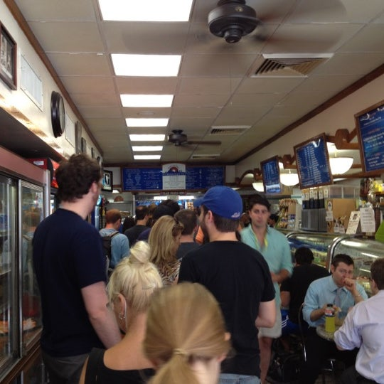 Photo taken at H&H Midtown Bagels East by Ann M. on 7/21/2012