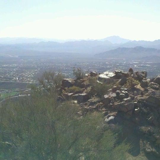 Photo taken at Sunrise Peak by Chris R. on 3/16/2012