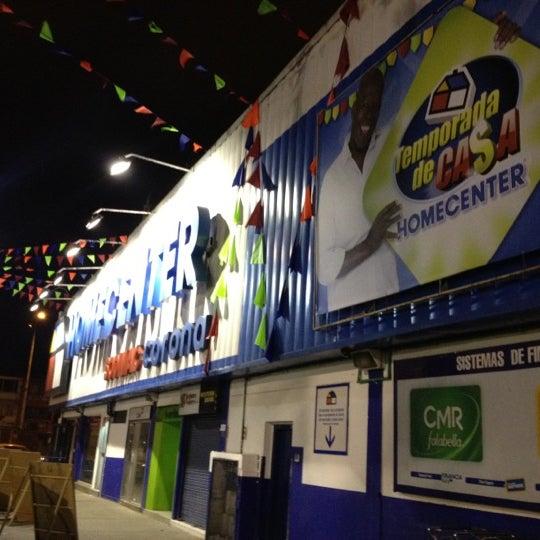 Photo taken at Homecenter y Constructor Av 68 Sur by Ricardo C. on 2/25/2012