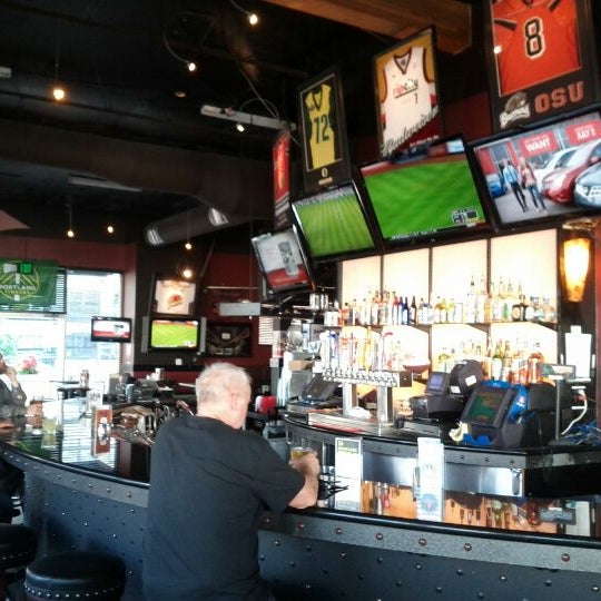 Photo taken at On Deck Sports Bar & Grill by Spencer G. on 6/14/2012