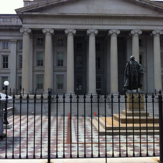 Photo taken at US Department of the Treasury by Muscle O. on 8/13/2011