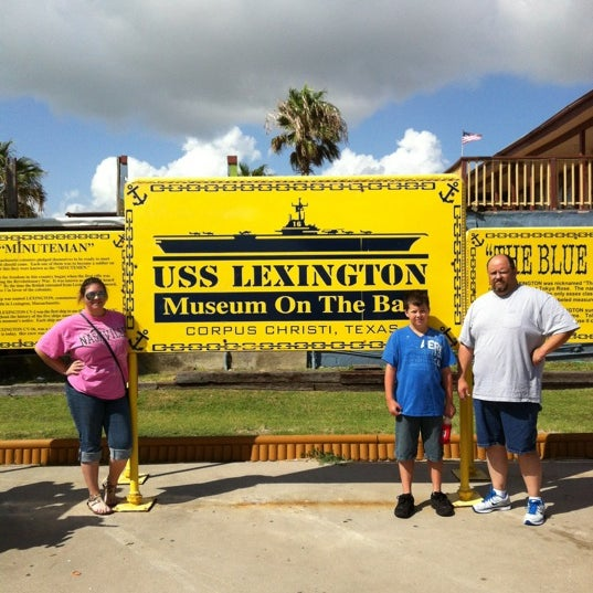 Photo taken at USS Lexington Museum On The Bay by TRACY S. on 7/6/2012
