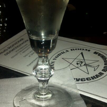 Photo taken at Russian Vodka Room by Manny L. on 8/20/2011