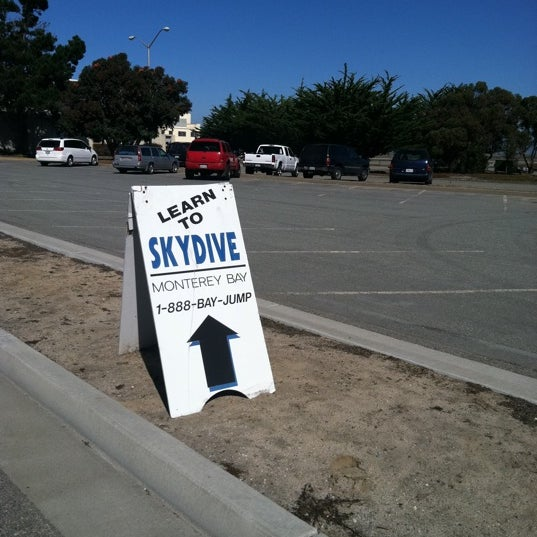 Photo taken at Skydive Monterey Bay by Nicole F. on 10/17/2011