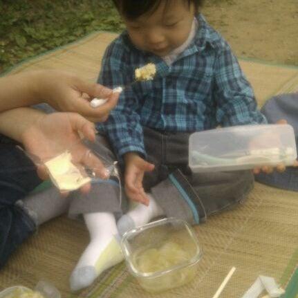 Photo taken at Yuldong Park by Inseok L. on 5/26/2012