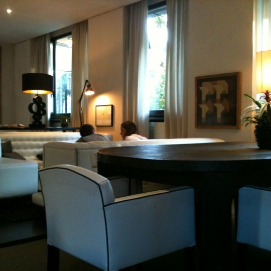 Photo taken at Pulitzer Hotel Rome by Daniel W. on 5/12/2011