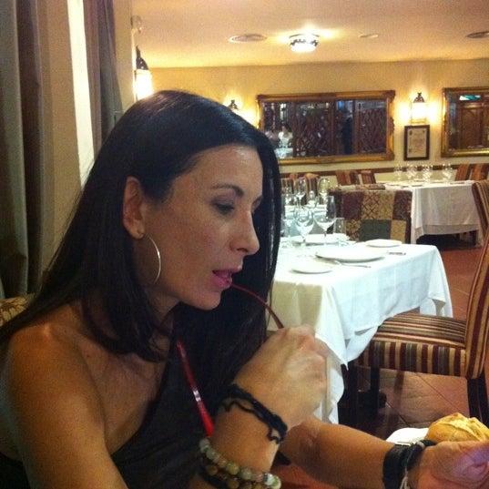 Photo taken at Restaurante El Caballo Rojo by Pedro B. on 10/14/2011