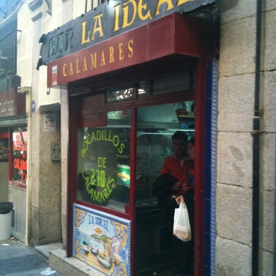 Photo taken at Bar La Ideal by JosepMaria on 3/11/2012