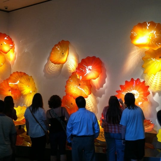 Photo taken at Chihuly Exhibit @ The MFA by Eric G. on 8/3/2011