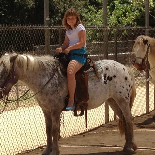Photo taken at Griffith Park Pony Rides by Igor K. on 6/24/2012