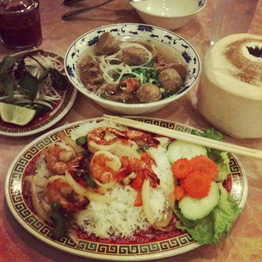 Photo taken at Pho 777 Vietnamese Restaurant by Jenna A. on 3/10/2012