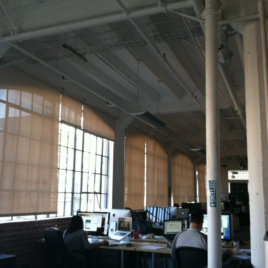 Photo taken at Scribd HQ by Lilia M. on 11/10/2011