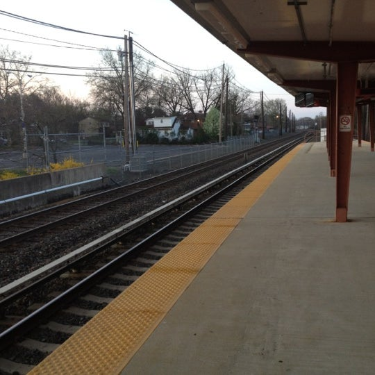 Photo taken at PATCO: Ashland Station by Jeff K. on 3/24/2012