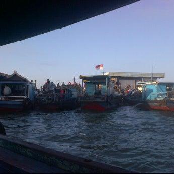 Photo taken at Pelabuhan speedboat kampung baru by Firly M. on 6/17/2012
