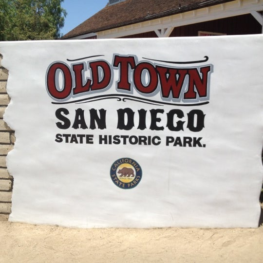 Old town san diego state historic park historic site in - Towne place at garden state park ...