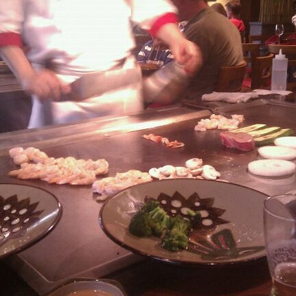 Photo taken at Benihana by Kirill Y. on 6/18/2012