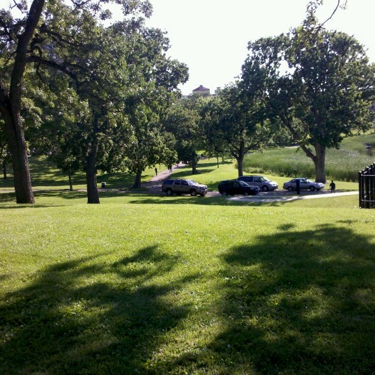 Photo taken at Loring Park by Morgan J. on 6/18/2012