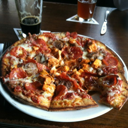 Photo taken at Trinity Brewhouse by Matthew P. on 4/25/2012