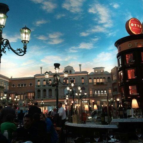 Photo taken at Otto Las Vegas by Ramana R. on 2/21/2012