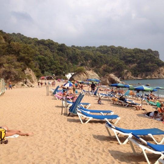 Photo taken at Cala Canyelles by Joaquim R. on 9/9/2012