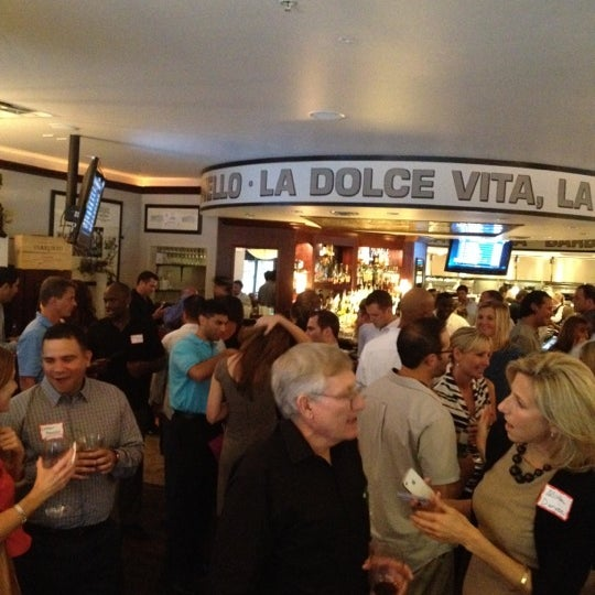 Photo taken at Timpano Italian Chop House by Kostas S. on 8/23/2012