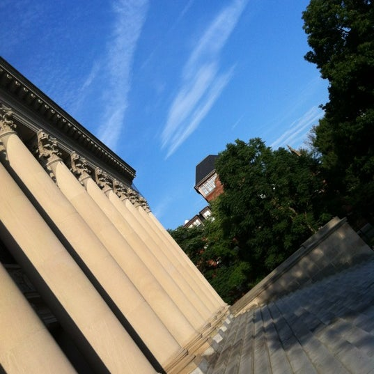 Photo taken at Widener Library by Susan B. on 8/26/2012