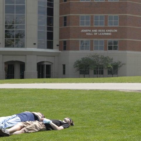 Photo taken at Benedictine University by Benedictine U. on 1/3/2012