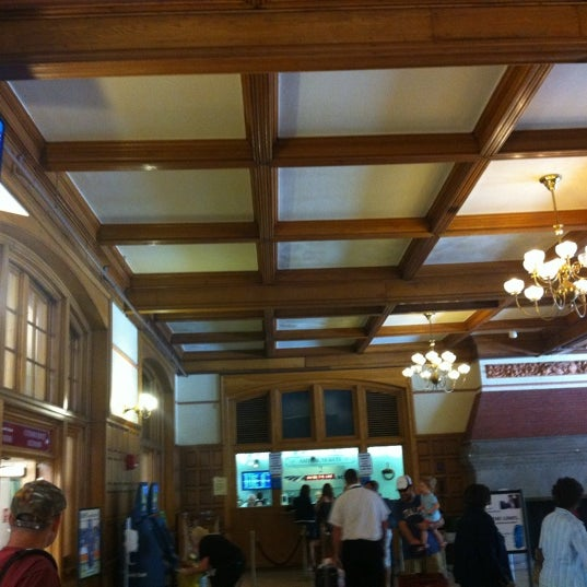 Photo taken at Amtrak: Harrisburg Transportation Center (HAR) by Timothy P. on 8/26/2011