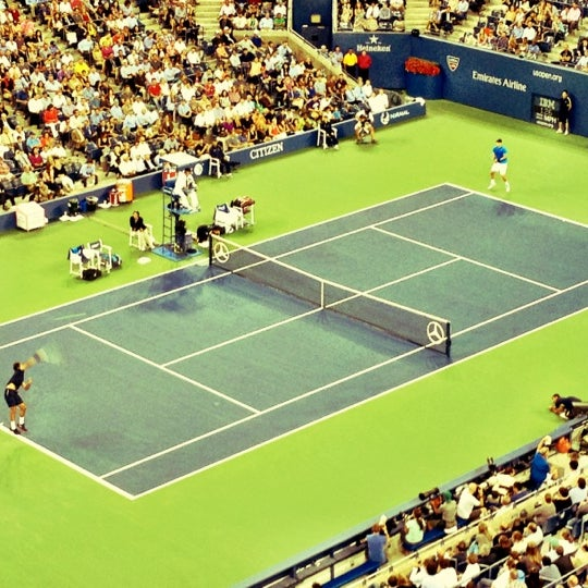 Photo taken at 2014 US Open Tennis Championships by Chase W. on 9/6/2012