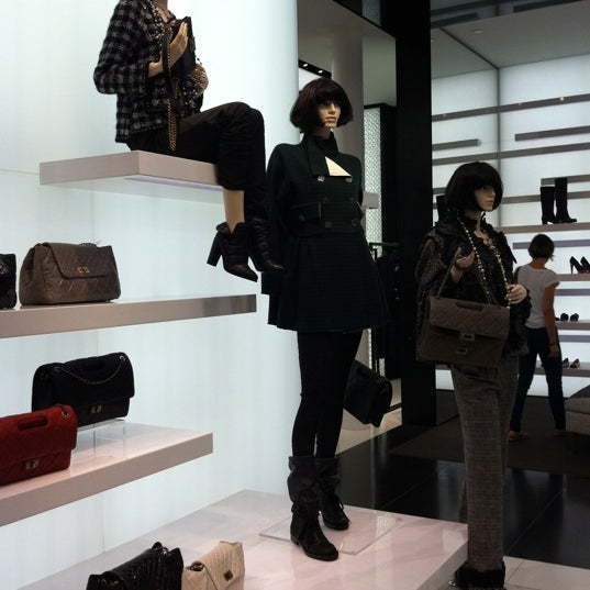 Photo taken at CHANEL Boutique by Shironeko :. on 9/24/2011