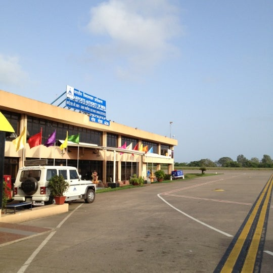 Photo taken at Dabolim Goa International Airport (GOI) by Vinay on 7/5/2012