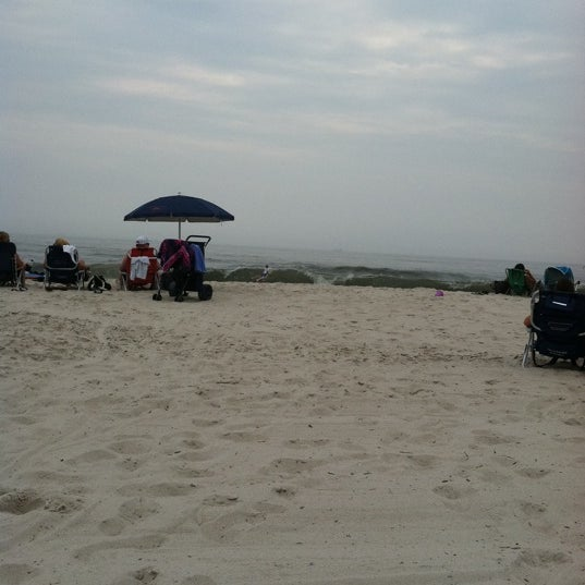 Photo taken at East Atlantic Beach by Hallie S. on 7/24/2011