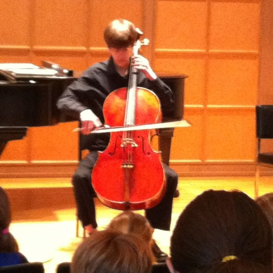 Photo taken at Hochstein School of Music & Dance by Andrea Z. on 1/22/2012