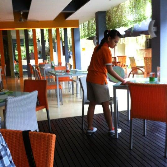 Photo taken at Harris Cafe by seabase k. on 10/20/2011