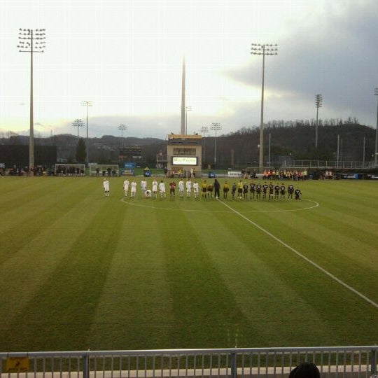 Photo taken at Dick Dlesk Soccer Stadium by Chris R. on 11/17/2011