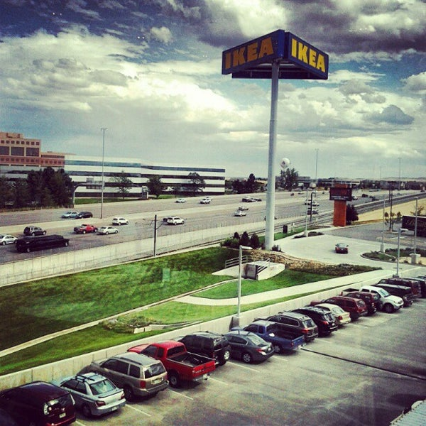 Photo taken at IKEA Centennial by Leah A. on 9/2/2012