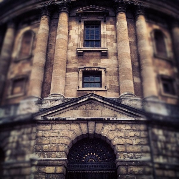 Photo taken at Radcliffe Camera by Ilicco on 7/28/2012