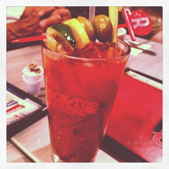 Photo taken at Roundabout Diner & Lounge by Jen D. on 6/3/2012