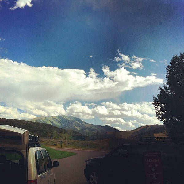 Photo taken at Aspen/Pitkin County Airport (ASE) by New Faces on 9/4/2012