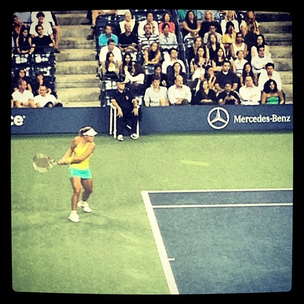 Photo taken at 2014 US Open Tennis Championships by Dens on 8/31/2012