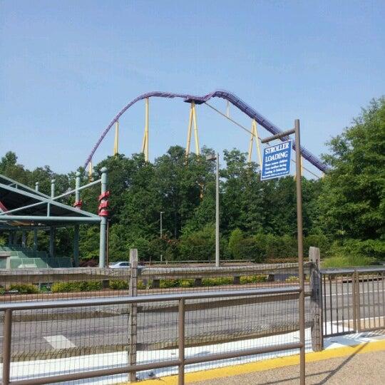 Photo taken at Busch Gardens Williamsburg by Eyrin P. on 7/5/2012