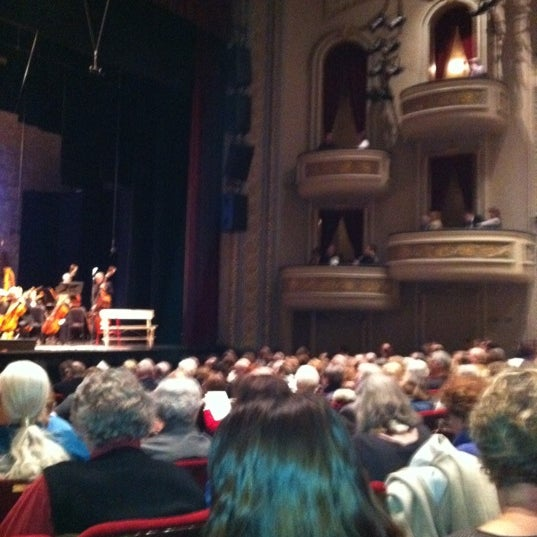 Photo taken at Fitzgerald Theater by Paula H. on 1/26/2011