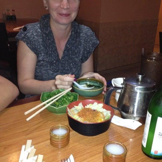 Photo taken at Yabi Sushi by Christina H. on 5/16/2012