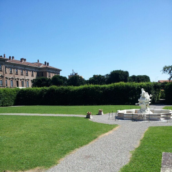 Photo taken at Villa Visconti Borromeo Litta by Marco P. on 6/5/2012
