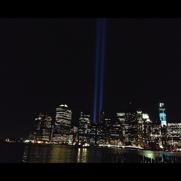 Photo taken at Brooklyn Bridge Park - Pier 6 by Kat E. on 9/12/2012