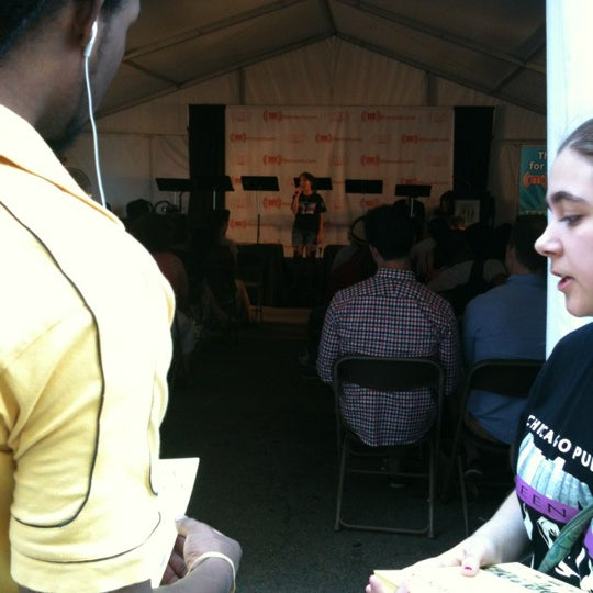 Photo taken at Printers Row Lit Fest by Keisha W. on 6/9/2012