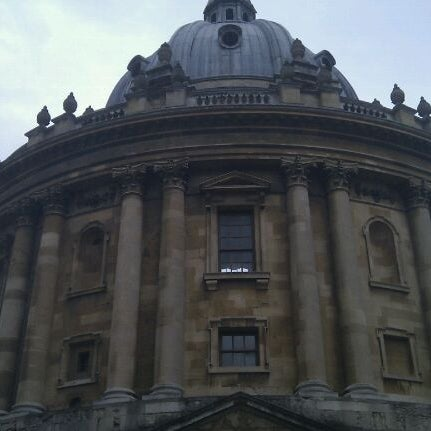 Photo taken at Radcliffe Camera by Toby V. on 8/20/2011